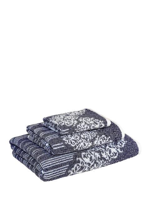 Linum Home Textiles 3 Piece Turkish Cotton Gioia