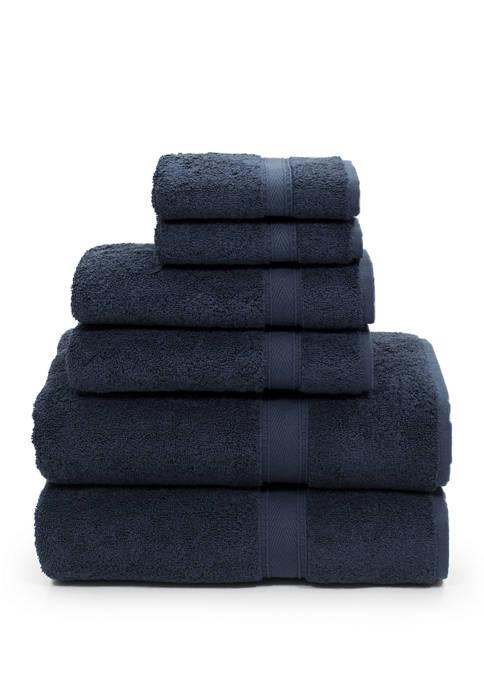 Linum Home Textiles 6 Piece Turkish Cotton Sinemis