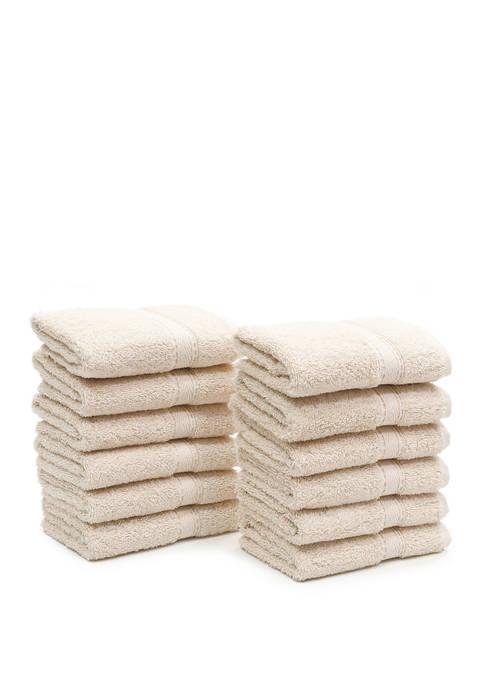 Linum Home Textiles Set of 12 Turkish Cotton