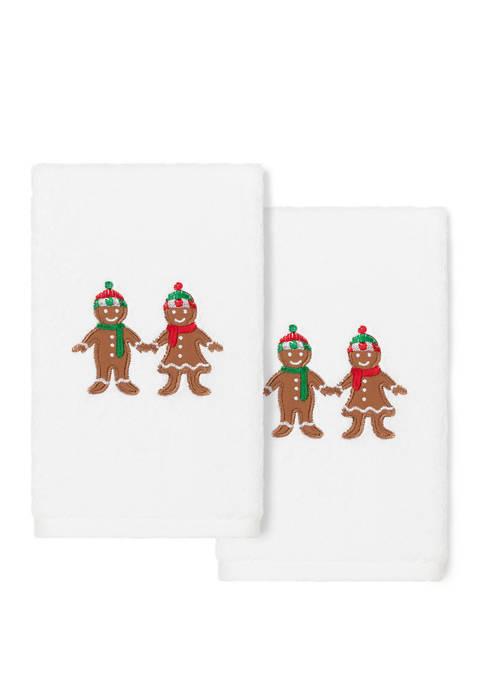 Linum Home Textiles Christmas Gingerbread