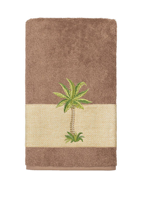 Linum Home Textiles Colton Embellished Bath Towel