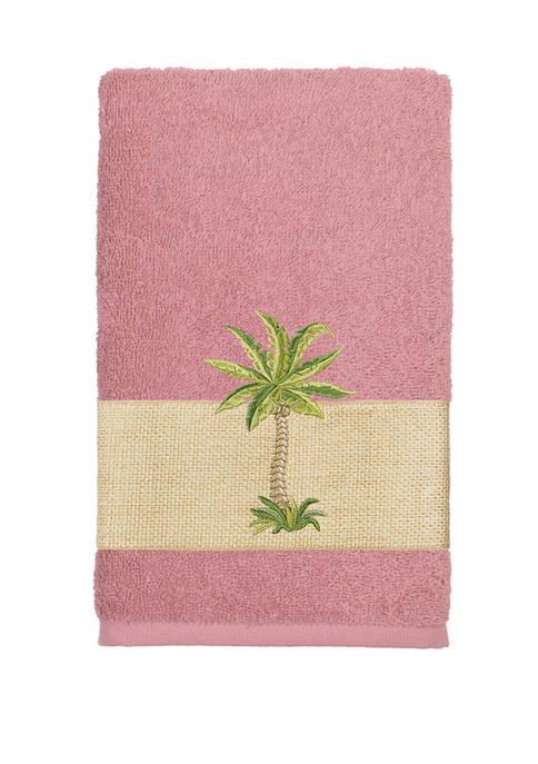 Linum Home Textiles Colton Embellished Hand Towel