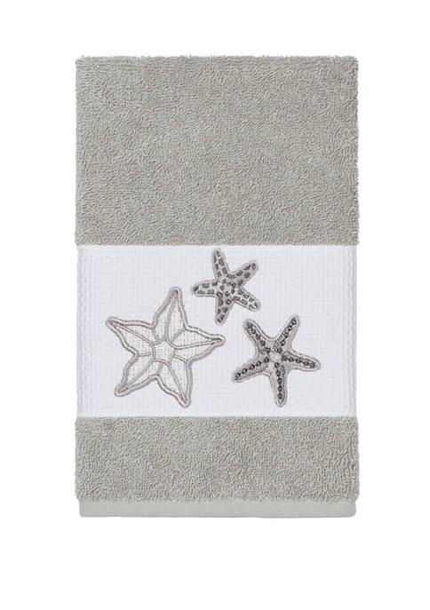 Linum Home Textiles Lydia Embellished Hand Towel
