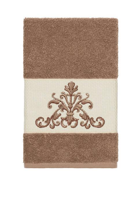 Linum Home Textiles Scarlet Embellished Hand Towel