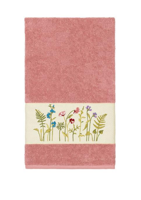 Linum Home Textiles Serenity Embellished Bath Towel