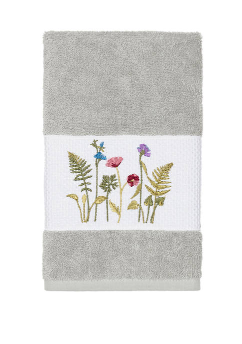 Linum Home Textiles Serenity Embellished Hand Towel