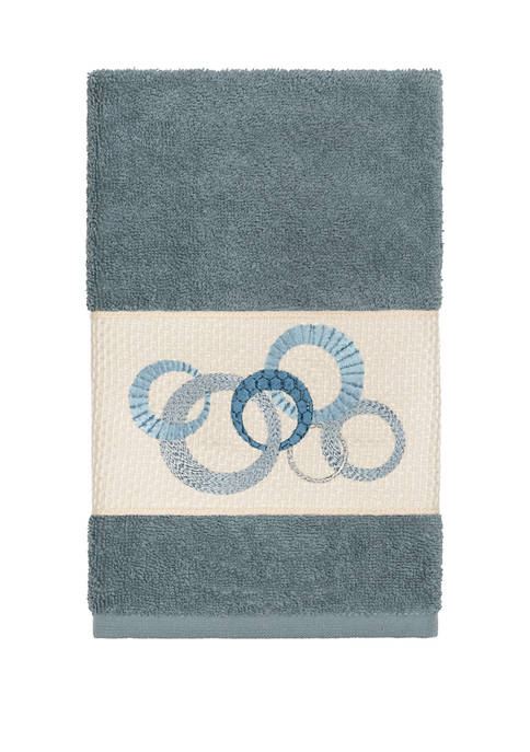 Linum Home Textiles Annabelle Embellished Hand Towel