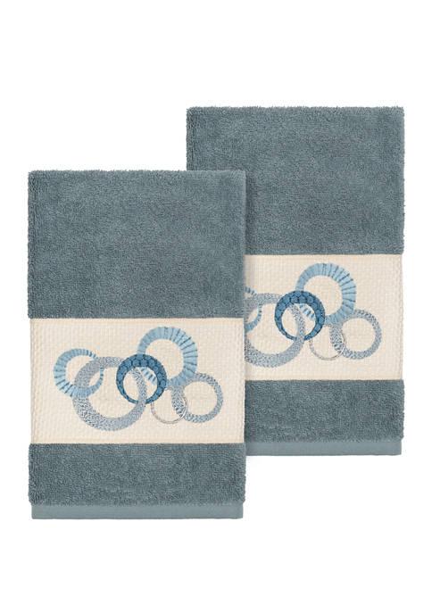 Linum Home Textiles Annabelle Set of 2 Embellished