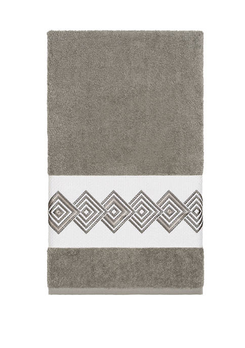 Linum Home Textiles Noah Embellished Bath Towel