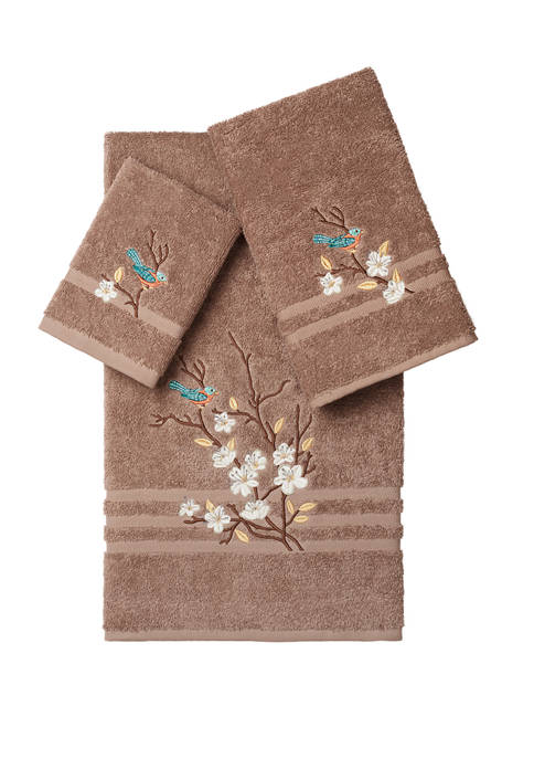 Linum Home Textiles Spring Time 3 Piece Embellished