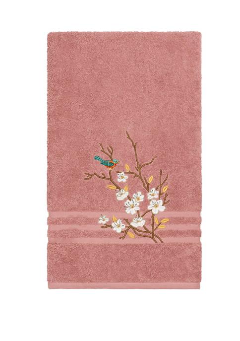 Linum Home Textiles Spring Time Embellished Bath Towel