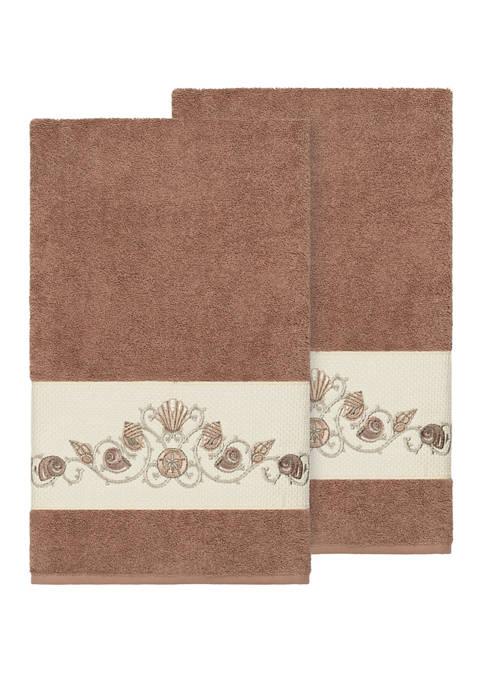Linum Home Textiles Bella Set of 2 Embellished