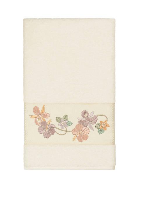 Linum Home Textiles Caroline Embellished Bath Towel