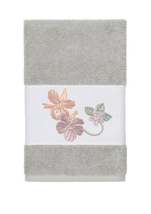 Linum Home Textiles Caroline Embellished Hand Towel