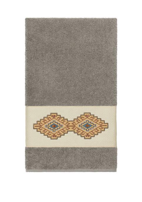 Linum Home Textiles Gianna Embellished Bath Towel