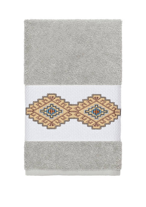 Linum Home Textiles Gianna Embellished Hand Towel