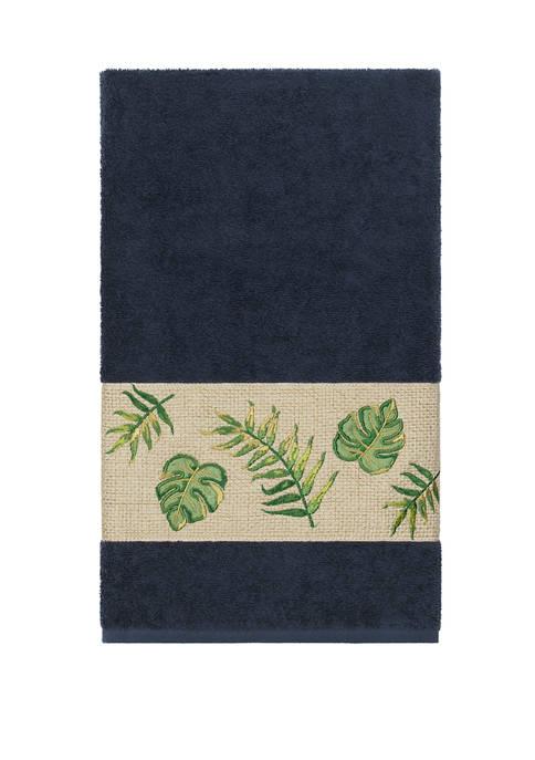 Linum Home Textiles Zoe Embellished Bath Towel