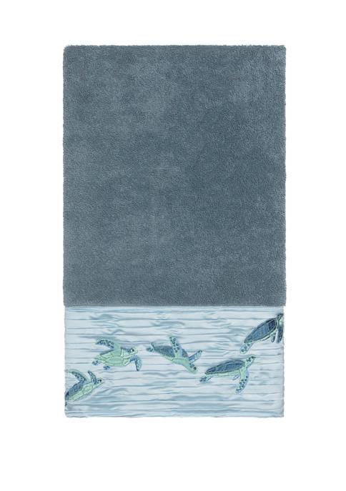 Linum Home Textiles Mia Embellished Bath Towel