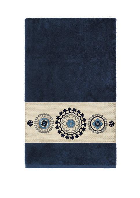 Linum Home Textiles Isabelle Embellished Bath Towel