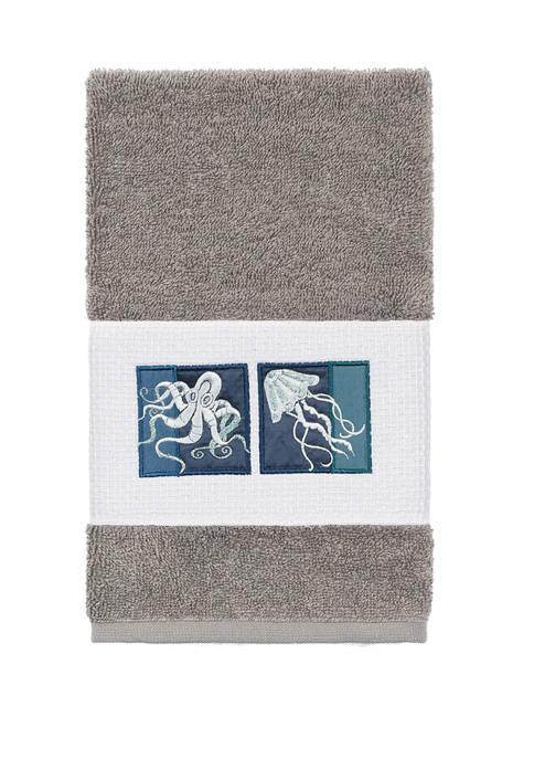 Linum Home Textiles Ava Embellished Hand Towel