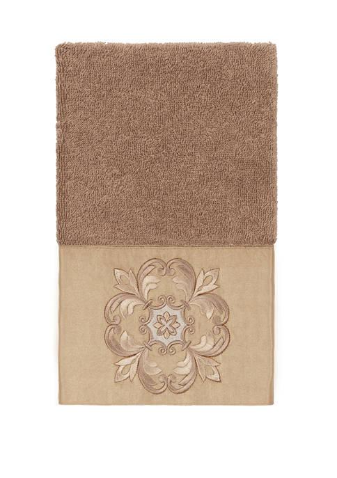Linum Home Textiles Alyssa Embellished Hand Towel