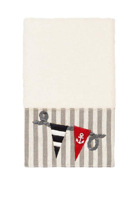 Linum Home Textiles Ethan Embellished Hand Towel