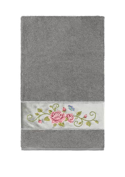 Linum Home Textiles Rebecca Embellished Bath Towel
