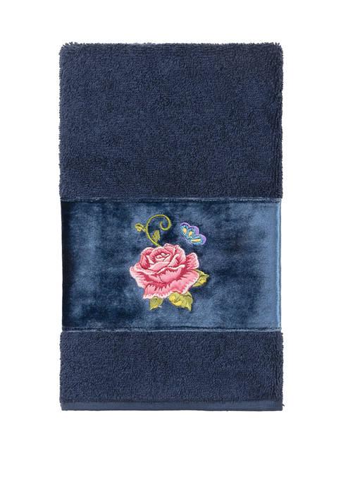 Linum Home Textiles Rebecca Embellished Hand Towel