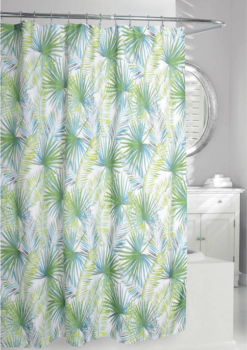 Palm Tree Fabric Shower Curtain