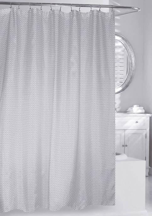 Diamonds Fabric Shower Curtain