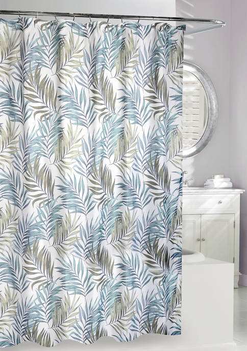 Key Largo Fabric Shower Curtain