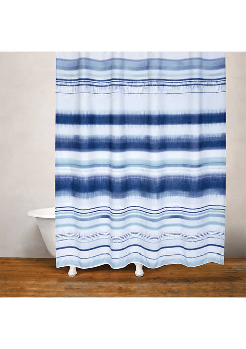 Skye Moves Fabric Shower Curtain