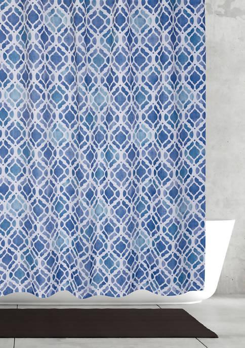 MODA Hazel Fabric Shower Curtain