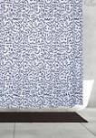Symbols Fabric Shower Curtain