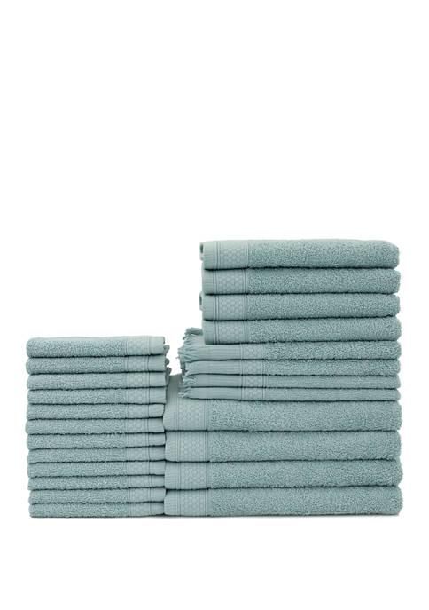 Belvedere 24 Piece Towel Set