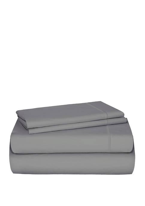 Distinct Dorm Cotton Sheet Set with Cell Phone