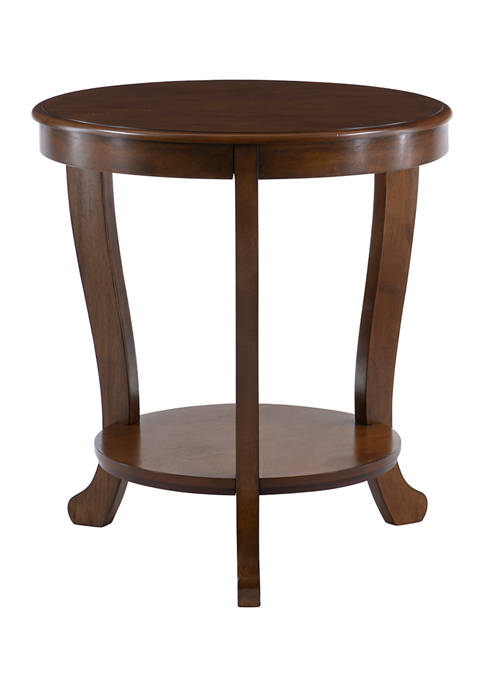 Powell Company Mullen Side Table Teal