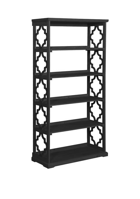 Beattie Black Bookcase