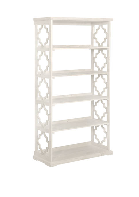 Powell Company Beattie White Bookcase