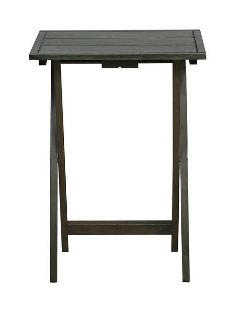Powell Company Norman Gray Tray Tables