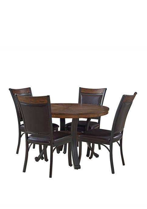 Powell Company Chambler 5 Piece Dining Set