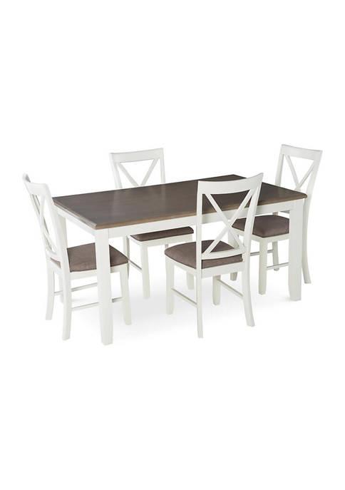 Powell Company Michonne 5 Piece Dining Set