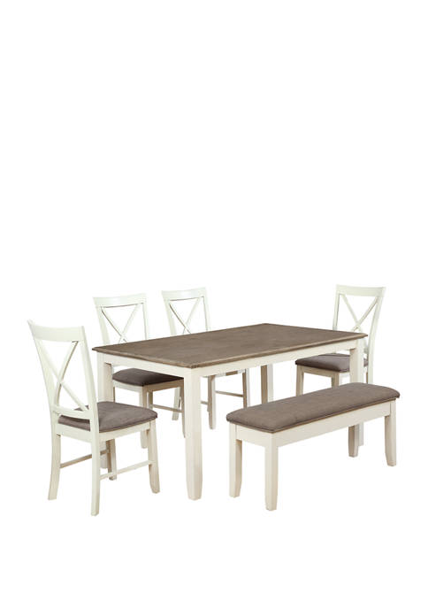 Powell Company Michonne 6 Piece Dining Set