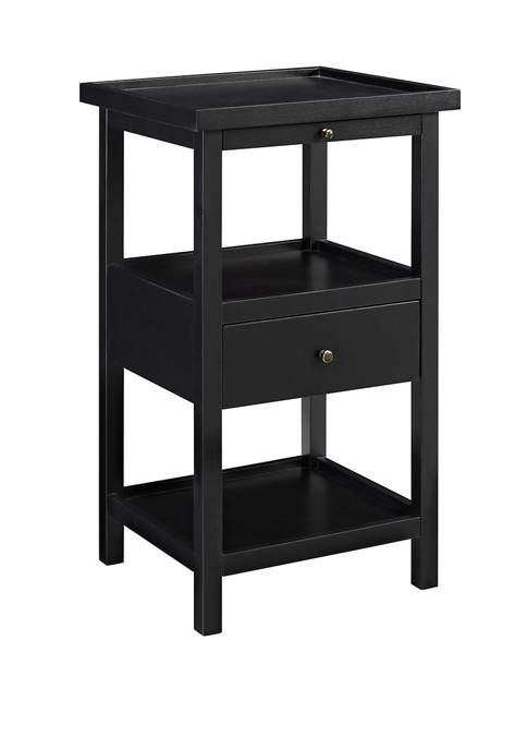 Powell Company Callies Side Table in Black