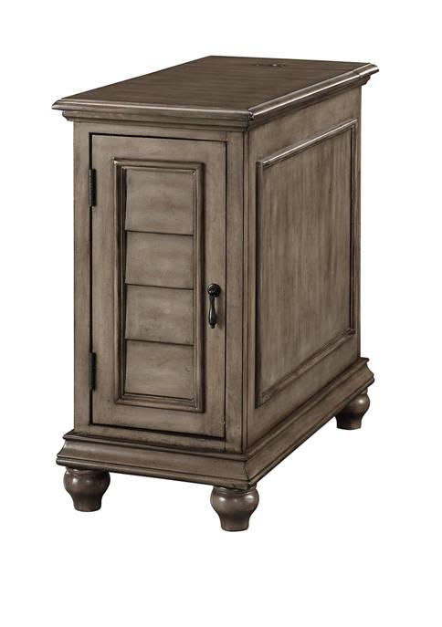 Dwight Shutter Cabinet in Gray