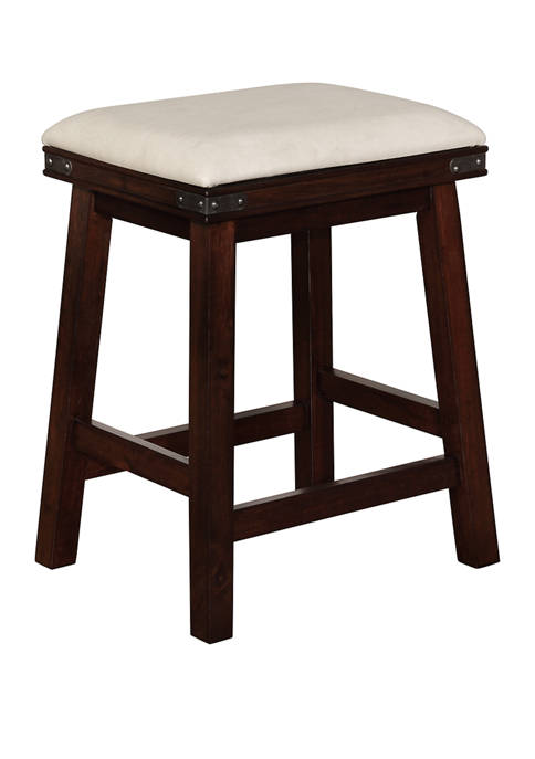 Powell Company Stewart Counter Stool Brown