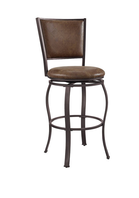 Powell Company Tyler Barstool in Brown