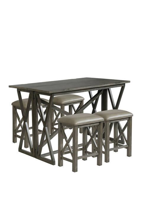 Powell Company Cantillo 3-Piece Pub Table Set