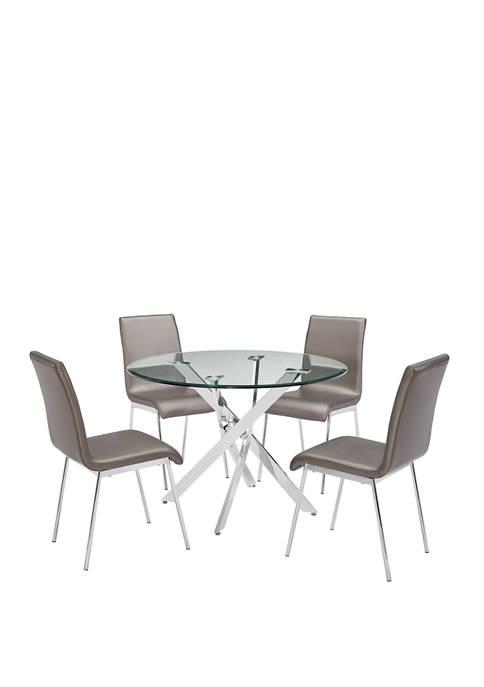 Kennedy 5-Piece Dining Set