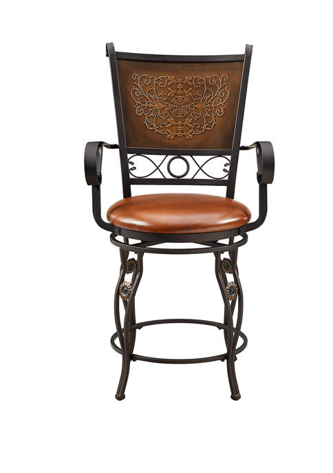 Powell Company Morales Counter Stool with Arms